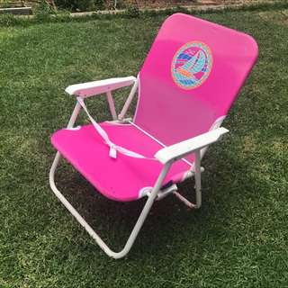Pink Beach Chair