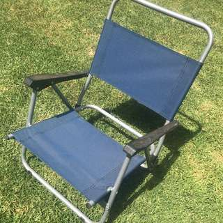 Navy Beach Chair