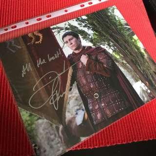 Daniel Portman 8X10 Autograph Headshot