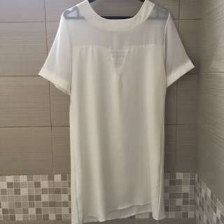White Dress #clerancesale