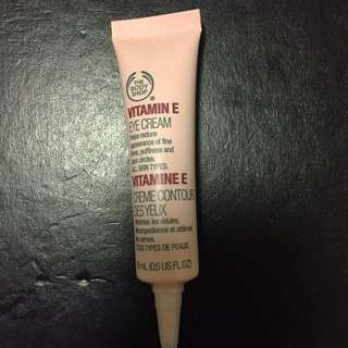 Body Shop Eye Cream Vitamin E