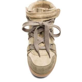 Isabel Marant Blue Bell Basket Sneakers Size 36