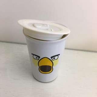 憤怒鳥 馬克杯 陶瓷杯 白