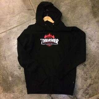 HUFxTHRASHER帽T/hoodie