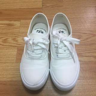 Net 小白鞋 厚底小白鞋 23.5 37