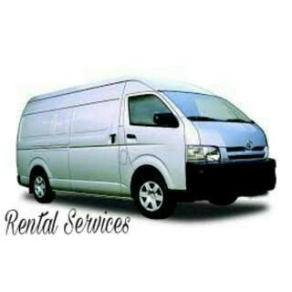 Having a problem to move your item after midnight? We provide Van rental with a driver & manpower.