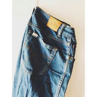 Hi-rise Denim Jeans