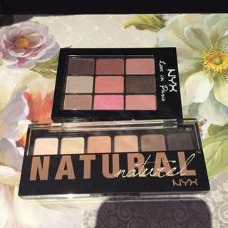 NYX Eyeshadow Palettes 💜