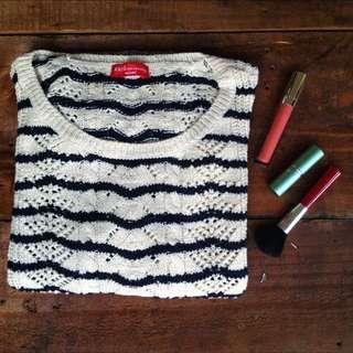 Earth Stripe Knitted Jumper