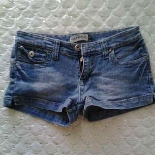 Wakee Short Denim Shorts