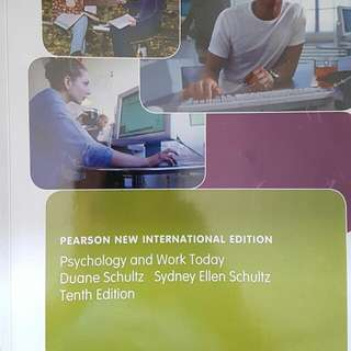 HP3801 Psychology in the Workplace, NEWEST VERSION