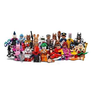 Set of 20 Lego Batman MF