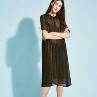 The Whitepepper Shimmer Dress