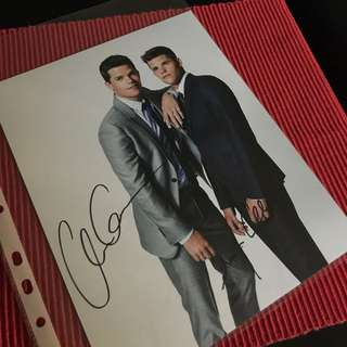 Max And Charlie Carver Signed Headshot
