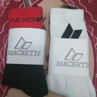 Kaos Kaki Original MACBETH