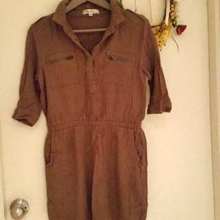 Khaki Top/Dress (8)