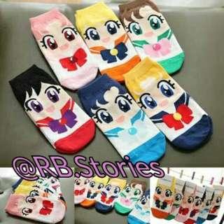 Korean Socks Sailormoon Series