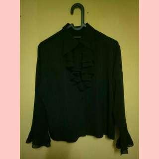 Kemeja Vintage Black