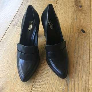 Wittens Black Heels Size EU 38 NEW
