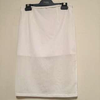 Minkpink Size S White Skirt