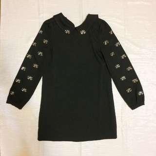 黑色寶石洋裝