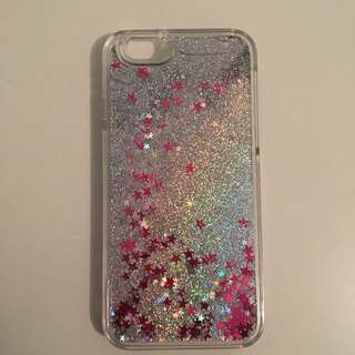 iPhone 6 Plastic Glitter Phone Case