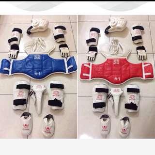 跆拳道全套護具