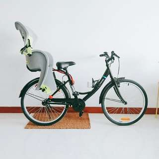 Decathlon Elope 100 City Bike with Child Seat