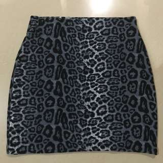 Rok Bodycon Leopard