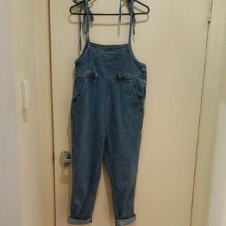 Korean Denim Jumpsuit