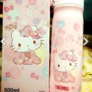 Hello Kitty Thermos 500ml 兩用冷熱保温杯