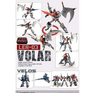 Lost Exo Realm - LER-03 Volar & Velos