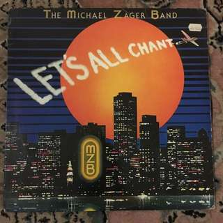 The Michael Zager Band - Let's All Chant LP