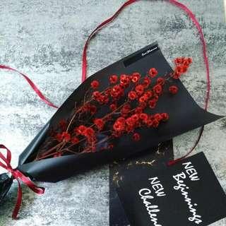 乾燥花束禮物 情人節花束禮物 畢業花束禮物 聖誕花束 乾燥花 Bouquet Dryflower