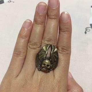 Skull Statement Ring // Cincin Tengorak