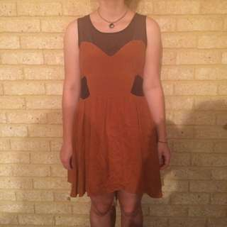 Piper Lane Raw Silk Dress Size 12