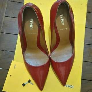 Reprice!!!!  FENDI Red Stiletto