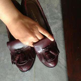 Charles & Keith Loafer Heels