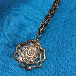 Long Flower Necklace // Kalung Bunga