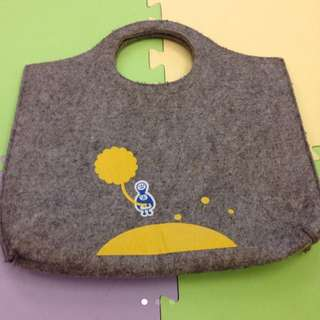 可愛毛呢手提包 #轉轉來交換 #可換物