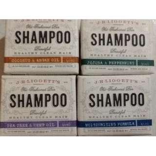 J.R. Liggett's Healthy Clean Hair Shampoo Bar Soap 99g Clearance