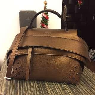 一口價**Tod's Copper Wave Bag ( Mini Size)