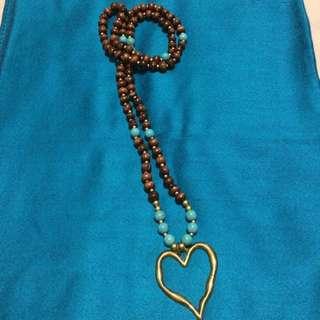 Love-Etnic Necklace // Kalung Love-Etnik