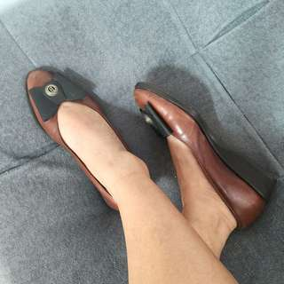 Authentic BALLY Ribbon Shoes