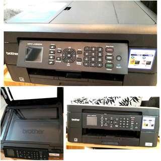 BROTHER Colour Inkjet Multi Function Printer