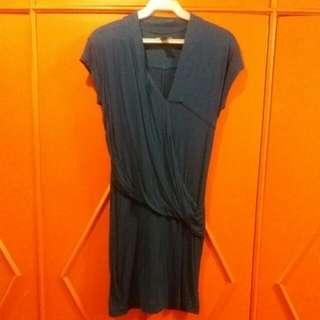 Mango Dark Blue Dress