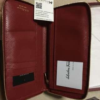Salvatore Ferragamo Red Wallet