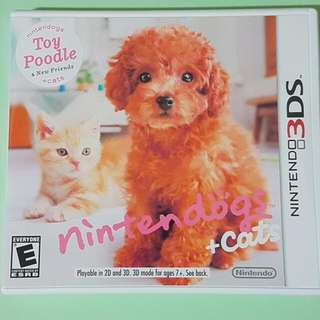 3ds Nintendogs Toy Poodle