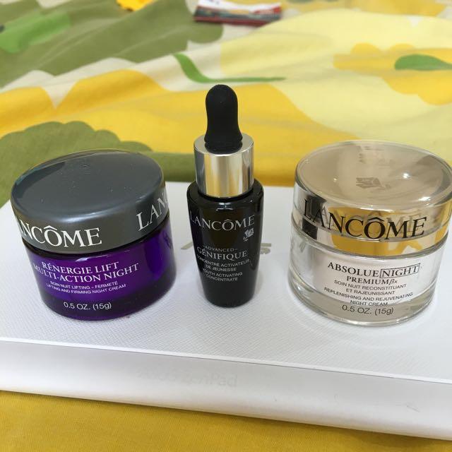 3pcs NEW Lancome Skincare