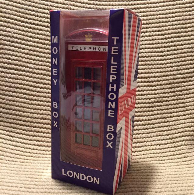 英國電話亭存錢桶